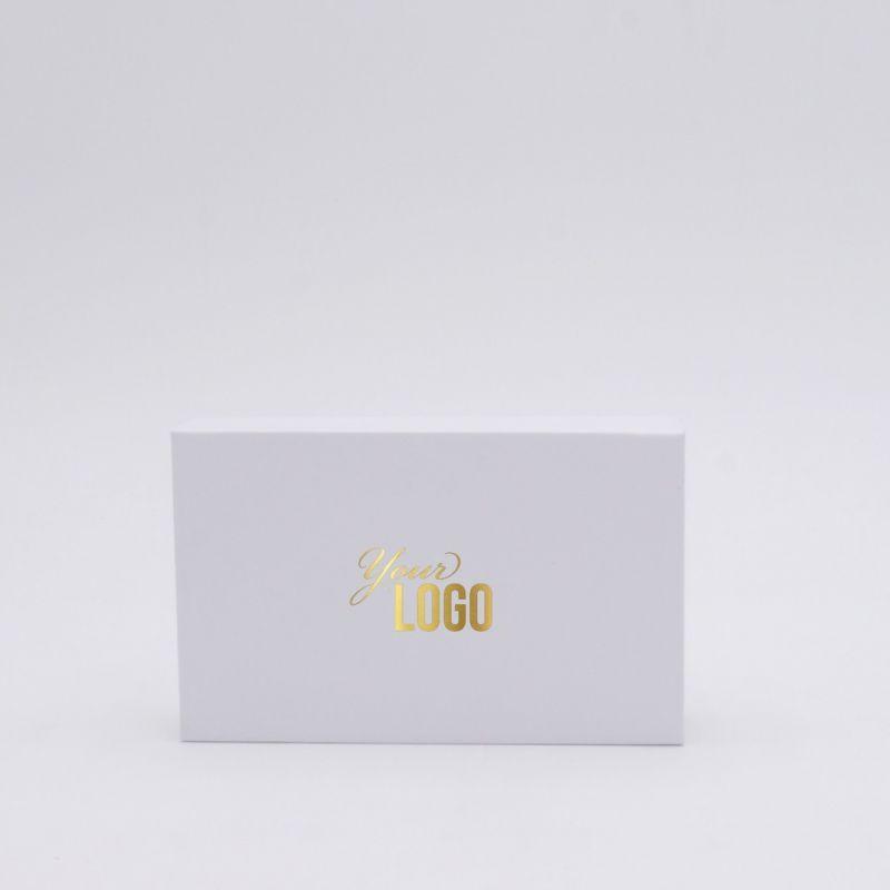 Boîte aimantée personnalisable Hingbox 12x7x2 CM | HINGBOX | IMPRESSION À CHAUD