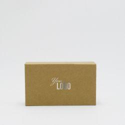 Boîte aimantée personnalisable Hingbox 12x7x3 CM | HINGBOX | IMPRESSION À CHAUD