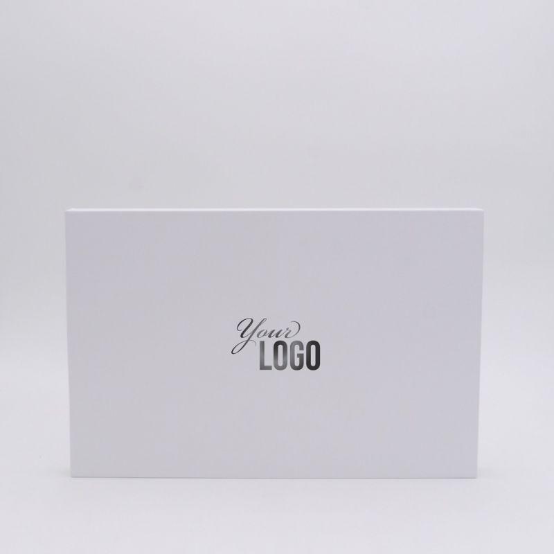 Scatola magnetica personalizzata Hingbox 35x23x2 CM | HINGBOX | STAMPA A CALDO
