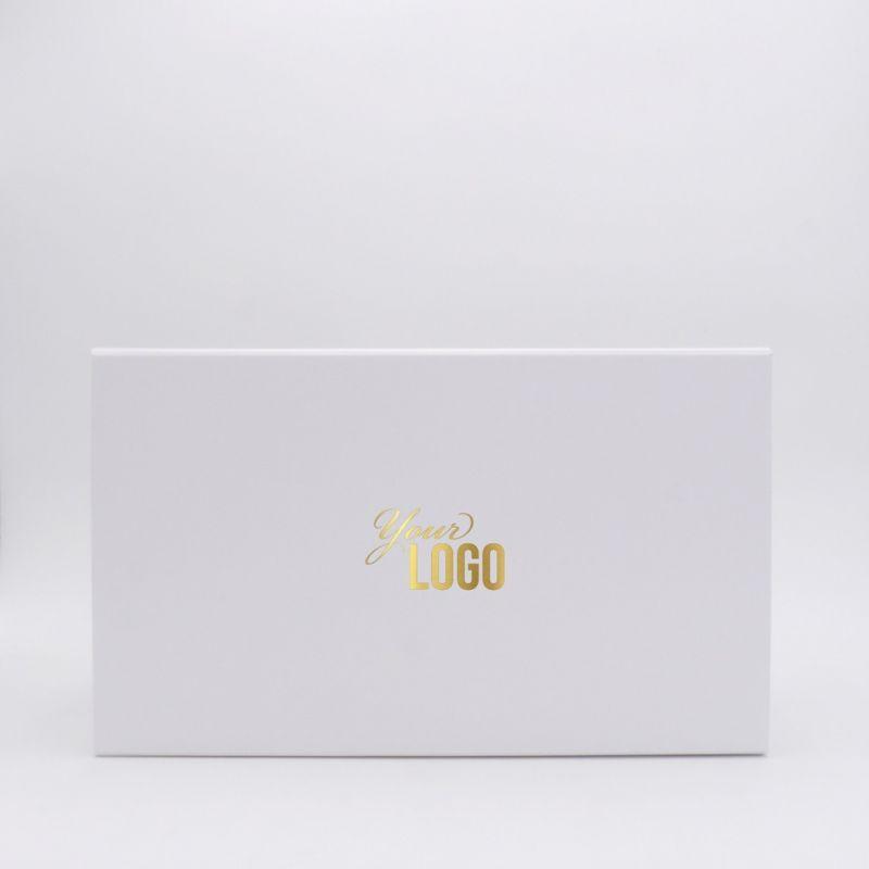 Schuifdekseldoos New York bedrukken 37x21x14cm (1 kleur, folie) | magneetdoos bedrukken