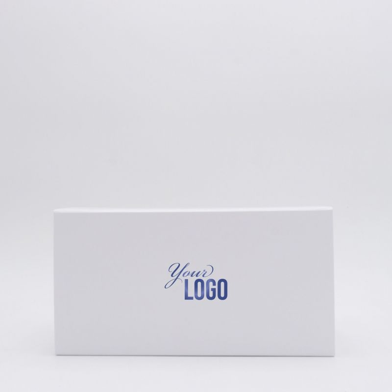 Customized Personalized Magnetic Box Flatbox 22x10x11 CM | EVOBOX | HOT FOIL STAMPING