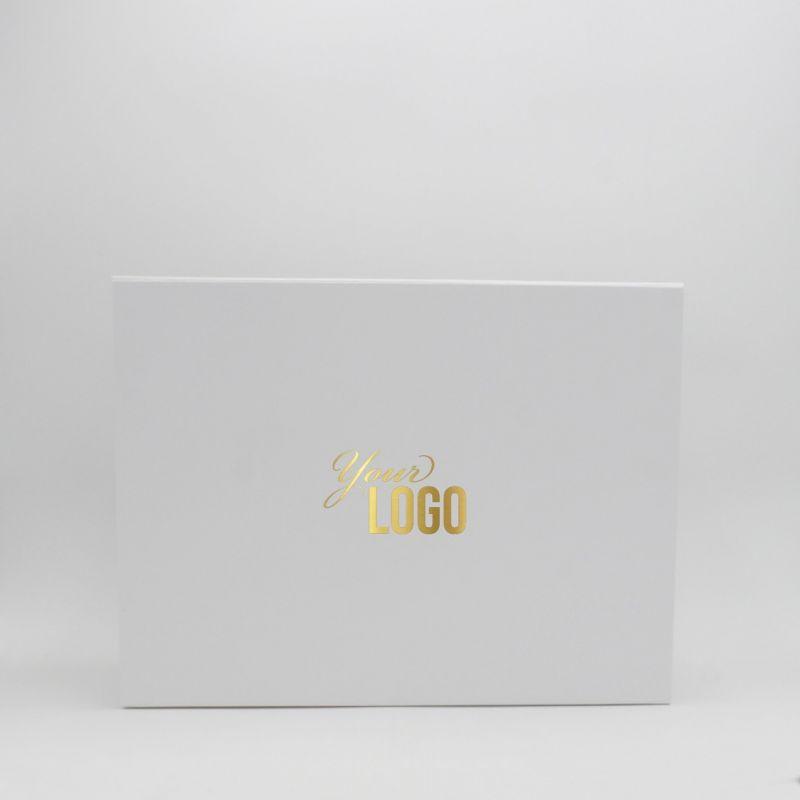 Scatola magnetica personalizzata Flatbox 43x31x5 CM | EVOBOX | STAMPA A CALDO