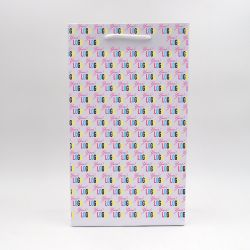 22x10x38 cm | SAC PAPIER NOBLESSE | IMPRESSION OFFSET 4 FACES | magneetdoos bedrukken