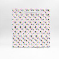 Noblesse personalisierte Papiertüte 36x12x37 cm | NOBLESSE PAPIERTÜTE | 4 SEITEN OFFSETDRUCK