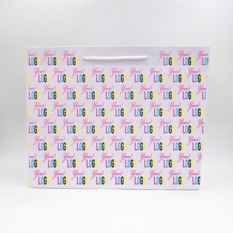 Bolsa Noblesse (entrega en 15 días)45x14x36 CM | SAC PAPIER NOBLESSE | IMPRESSION OFFSET SUR L'ENSEMBLE DU SAC