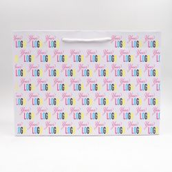 Shopping bag Noblesse (delivery in 15 days)48x15x32 CM | NOBLESSE PAPER BAG | OFFSET PRINTING ALL OVER