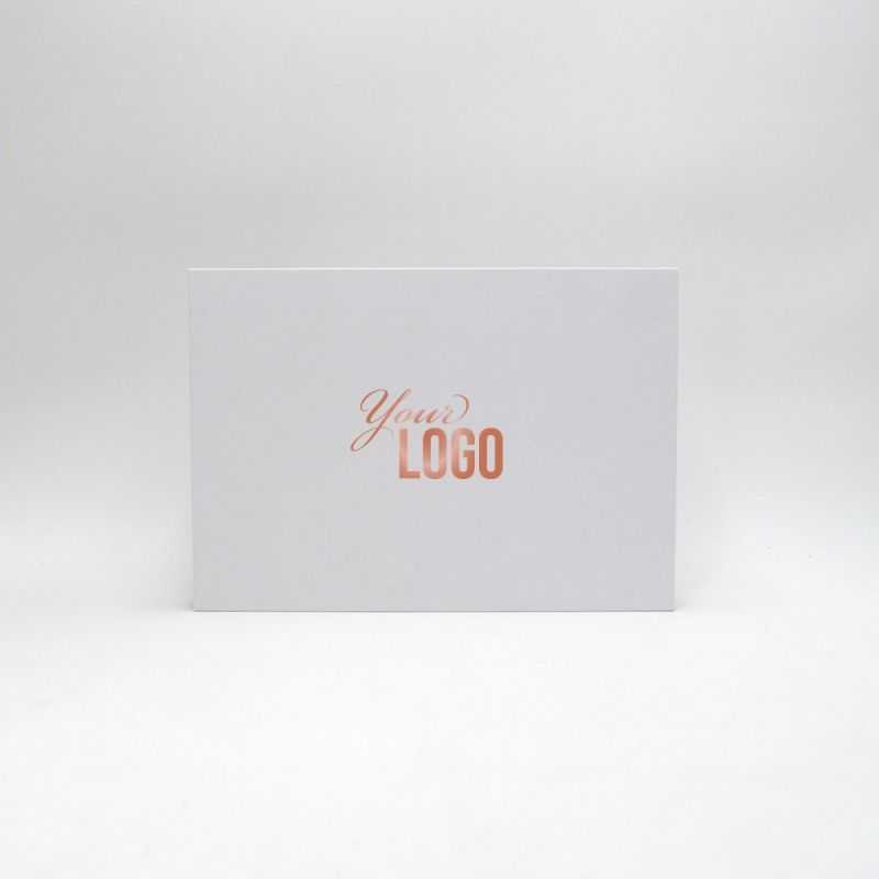 Customized Personalized Magnetic Box Hingbox 30x21x2 CM | HINGBOX | HOT FOIL STAMPING