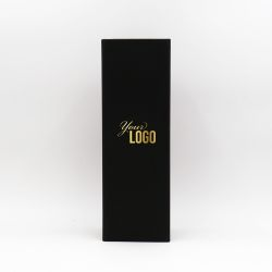 Caja magnética personalizada Bottlebox 10x33x10 CM | BOTTLE BOX |CAJA PARA 1 BOTELLA | ESTAMPADO EN CALIENTE