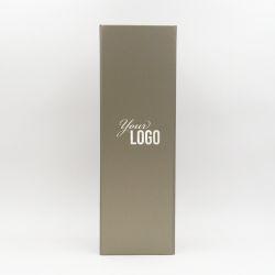 Scatola magnetica personalizzata Bottlebox 12x40,5x12 CM | BOTTLE BOX |SCATOLA PER 1 BOTTIGLIA MAGNUM |STAMPA A CALDO