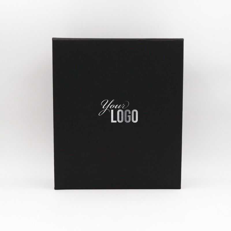 Scatola magnetica personalizzata Bottlebox 28x33x10 CM | BOTTLE BOX |SCATOLA PER 3 BOTTIGLIE |STAMPA A CALDO