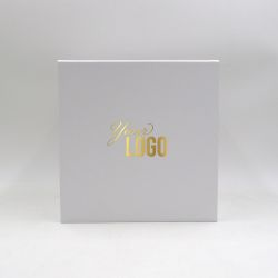 Customized Personalized Magnetic Box Cubox 22x22x22 CM | CUBOX | HOT FOIL STAMPING