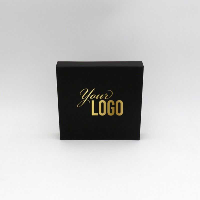 Customized Personalized Magnetic Box Sweetbox 17x16,5x3 CM | SWEET BOX | HOT FOIL STAMPING
