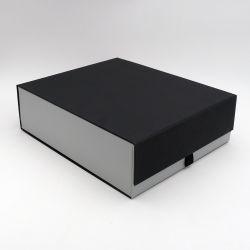 Boîte aimantée personnalisée Bottlebox 28x33x10 CM | BOTTLE BOX |BOÎTE POUR 3 BOUTEILLES | IMPRESSION À CHAUD