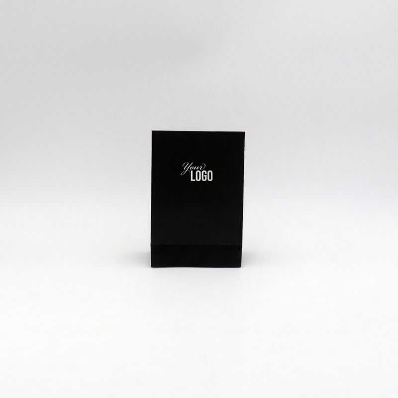 Busta di carta personalizzata Noblesse 12x6x18 CM | POCHETTE NOBLESSE | STAMPA A CALDO