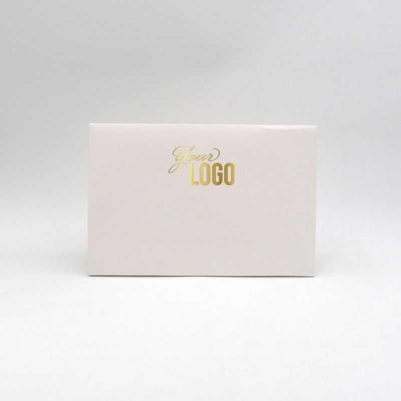 Bolsa de papel personalizada Noblesse 30x10x20 CM | POCHETTE PAPIER NOBLESSE | IMPRESSION A CHAUD