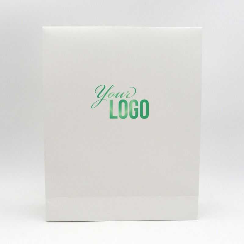 Pochette papier personnalisée Noblesse 32x10x40 CM | POCHETTE PAPIER NOBLESSE | IMPRESSION A CHAUD