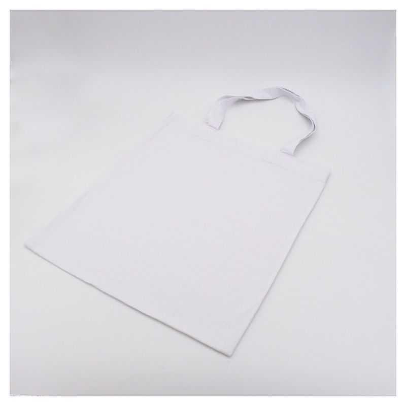 Bolsa de algodón reutilizable personalizada 38x42 CM   BOLSA TOTE DE ALGODÓN   IMPRESIÓN SERIGRÁFICA DE UN LADO EN UN COLOR