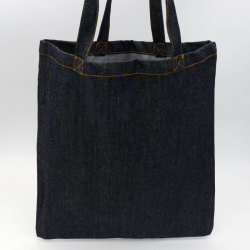 Denim Bag (15 days delivery)38x42 CM | TOTE DENIM BAG | SCREEN PRINTING ON ONE SIDE IN TWO COLOURS