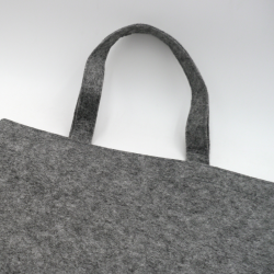 Felt bag (15 days delivery)41x41 +7 CM | TOTE FELT BAG | SCREEN PRINTING ON TWO SIDES IN TWO COLOURS