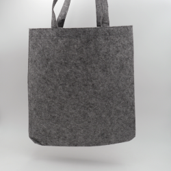 Felt bag (15 days delivery)41x41 +7 CM | TOTE FELT BAG | SCREEN PRINTING ON TWO SIDES IN ONE COLOUR
