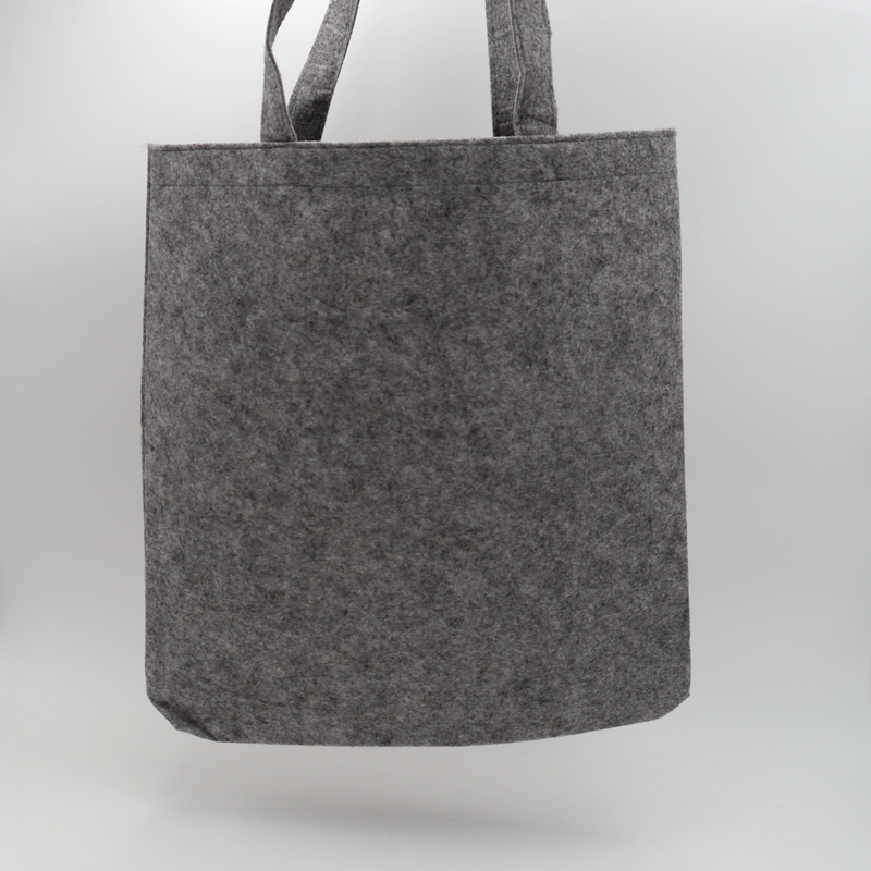 Felt bag (15 days delivery)41x41 +7 CM   TOTE FELT BAG   SCREEN PRINTING ON ONE SIDE IN TWO COLOURS