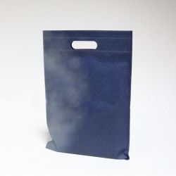 Customized Sac en tissu non tissé personnalisé 25x35 CM | NON-WOVEN TNT DKT BAG | SCREEN PRINTING ON TWO SIDES IN ONE COLOR