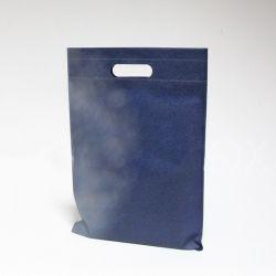 Customized Sac en tissu non tissé personnalisé 25x35 CM | NON-WOVEN TNT DKT BAG| SCREEN PRINTING ON ONE SIDE IN TWO COLORS