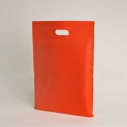 Customized Sac en tissu non tissé personnalisé 40x45 CM | NON-WOVEN TNT DKT BAG | SCREEN PRINTING ON ONE SIDE IN ONE COLOR