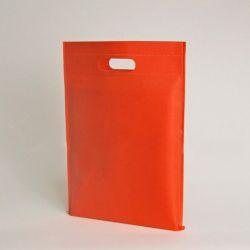 Customized Sac en tissu non tissé personnalisé 40x45 CM | NON-WOVEN TNT DKT BAG| SCREEN PRINTING ON ONE SIDE IN TWO COLORS
