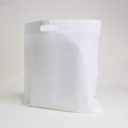 Sac en tissu non tissé personnalisé 50x50 CM   US TNT DKT BAG   SIEBDRUCK AUF EINER SEITE IN ZWEI FARBEN