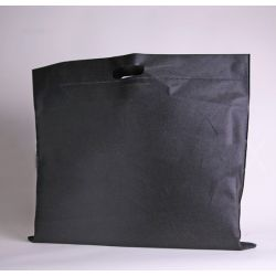 Customized Sac en tissu non tissé personnalisé 60x50 CM   NON-WOVEN TNT DKT BAG  SCREEN PRINTING ON ONE SIDE IN TWO COLORS