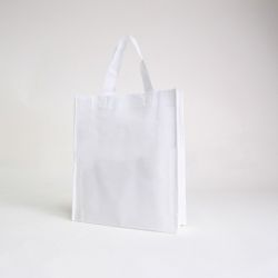 Customized Sac en tissu non tissé personnalisé 30x10x35 CM | NON-WOVEN TNT LUS BAG| SCREEN PRINTING ON TWO SIDES IN ONE COLOR