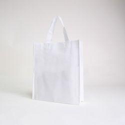 Customized Sac en tissu non tissé personnalisé 30x10x35 CM | NON-WOVEN TNT LUS BAG| SCREEN PRINTING ON ONE SIDE IN TWO COLORS