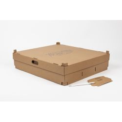 48,5x54,5x12,5 CM | DELIVERY BOX| HOT FOIL STAMPING