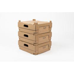 Boîtes à emporter 23,5x27x10 CM | BOÎTES À EMPORTER | IMPRESSION À CHAUD