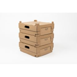 Take away verpakking23,5x27x10 SCATOLE VINO E-COMMERCE
