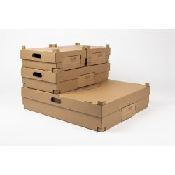 Scatole da asporto48,5x54,5x12,5 CM | SCATOLE DA ASPORTO PERSONALIZZATE | STAMPA DIGITALE