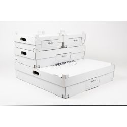48,5x54,5x12,5 CM | SCATOLE ASPORTO| STAMPA A CALDO | magneetdoos bedrukken