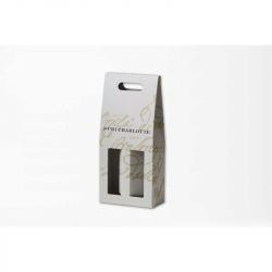 Boîte Winebox19x42x9 CM | BOÎTE PORTE-BOUTEILLE | IMPRESSION OFFSET
