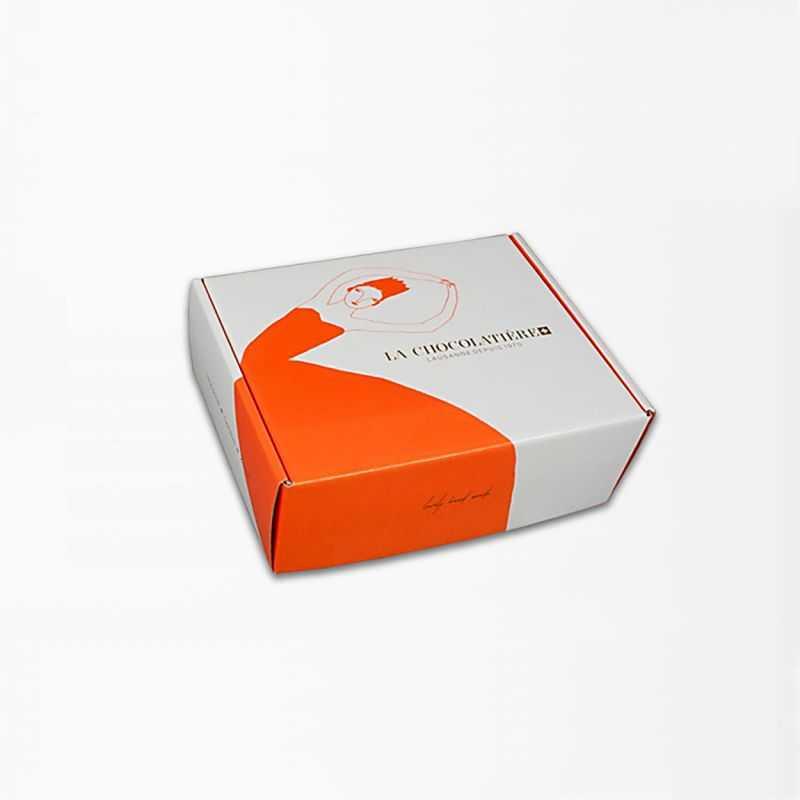 Boîte Postpack25x23x11 CM | BOÎTE D'EXPÉDITION | IMPRESSION OFFSET