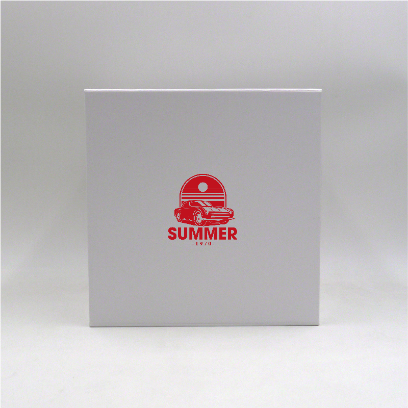 Magnetic box Cubox (delivery in 15 days)22x22x22 CM   CUBOX   SCREEN PRINTING ON ONE SIDE IN ONE COLOUR