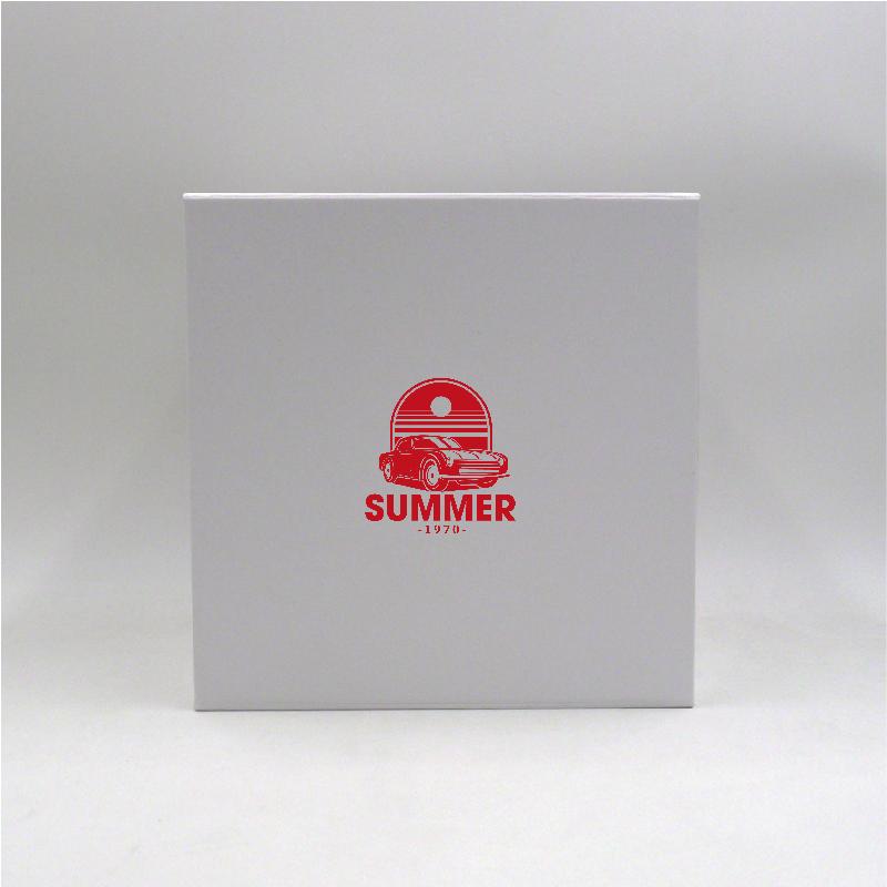 Boîte aimantée Cubox 22x22x22 CM | CUBOX | IMPRESSION EN SÉRIGRAPHIE SUR UNE FACE EN UNE COULEUR