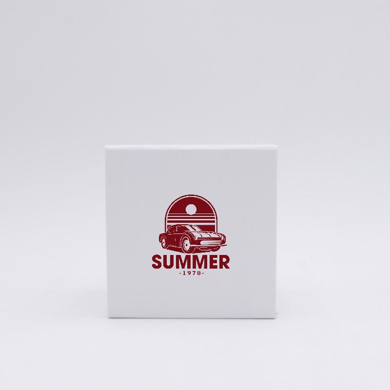 Scatola magnetica Cubox (consegna in 15 giorni)10x10x10 CM | CUBOX | IMPRESSION EN SÉRIGRAPHIE SUR UNE FACE EN UNE COULEUR