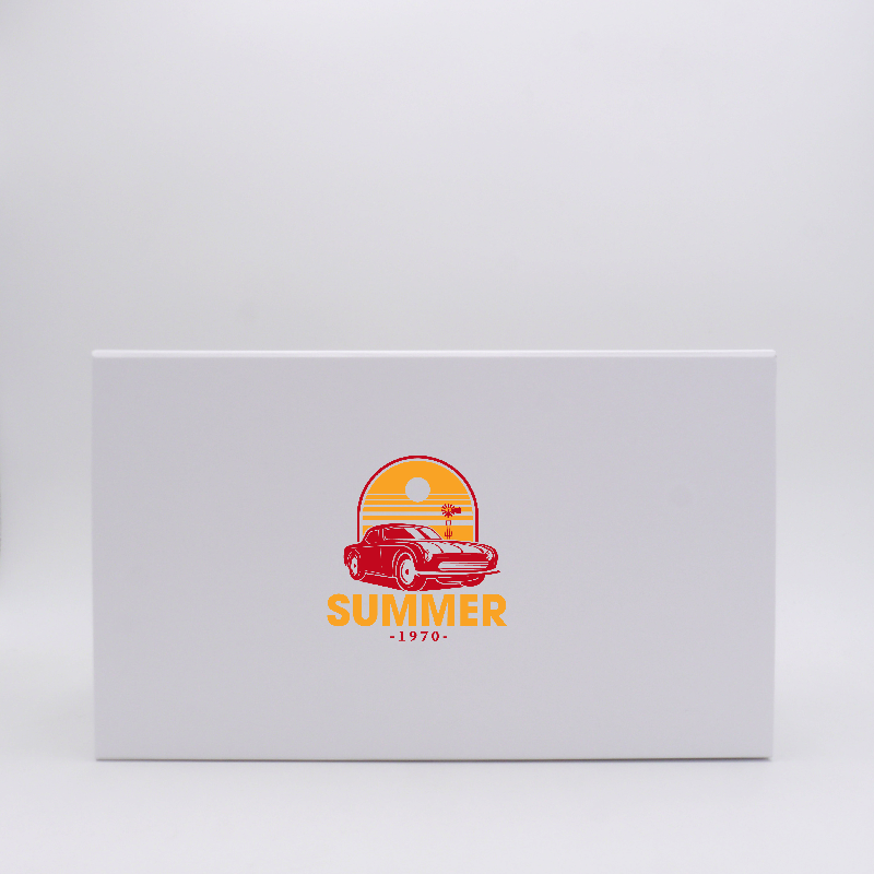 Drawer box Smartflat (delivery in 15 days)37x21x14 CM   SMARTFLAT   SCREEN PRINTING ON ONE SIDE IN TWO COLOURS