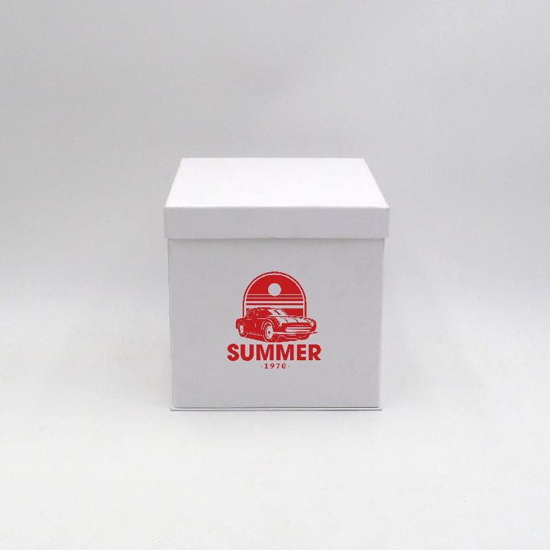 Scatola Flowerbox (consegna in 15 giorni)18x18x18 CM | FLOWERBOX | STAMPA SERIGRAFICA SU UN LATO IN UN COLORE