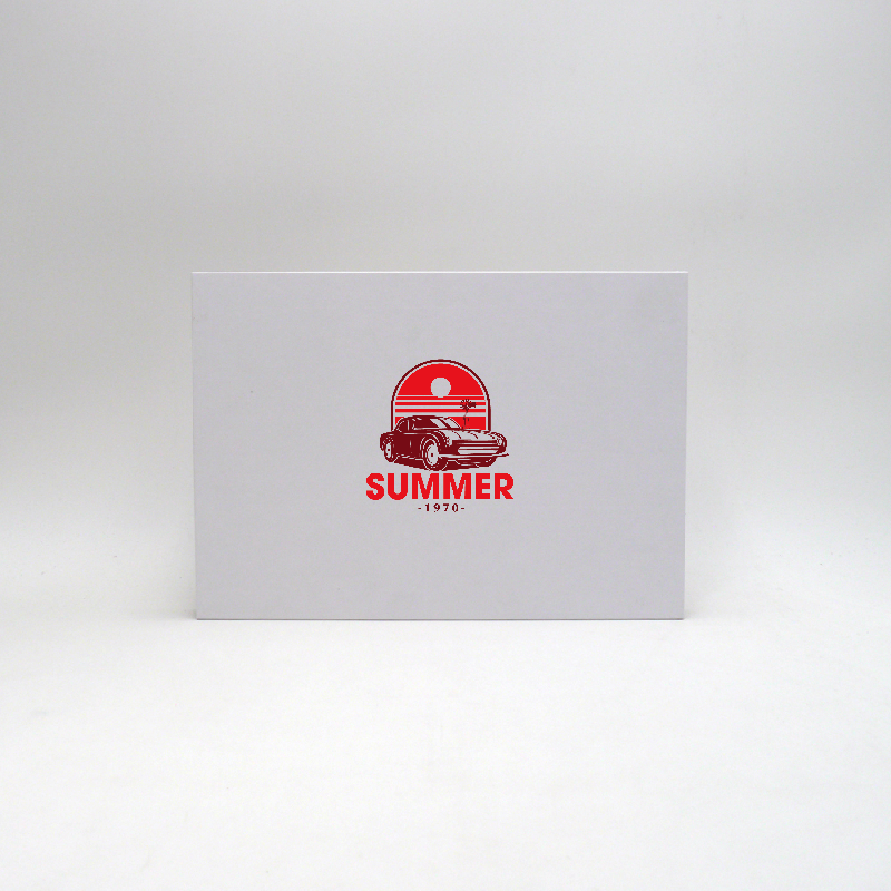 Magnetic box Hingbox (delivery in 15 days)31x22x2,4 CM | HINGBOX | SCREEN PRINTING ON ONE SIDE IN TWO COLOURS