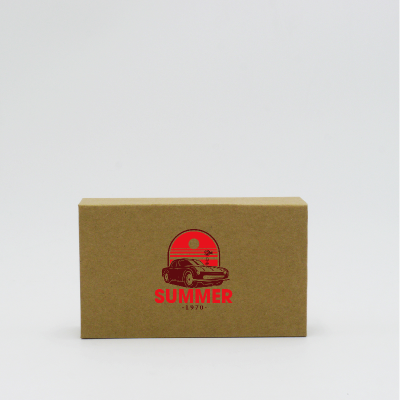 Magnetic box Hingbox (delivery in 15 days)12x7x3 CM | HINGBOX | SCREEN PRINTING ON ONE SIDE IN TWO COLOURS