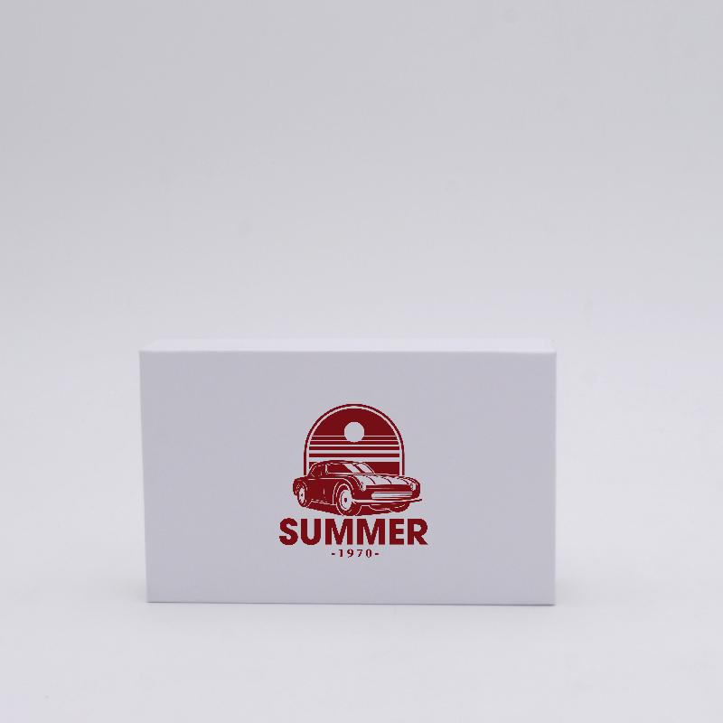 Scatola magnetica Hingbox (consegna in 15 giorni)12x7x2 CM | HINGBOX | STAMPA SERIGRAFICA SU UN LATO IN UN COLORE