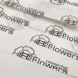 Gepersonaliseerde Bedrukt zijde papier 100x75 CM | ZIJDEPAPIER | FLEXO BEDRUKKING | 1500 VELLEN