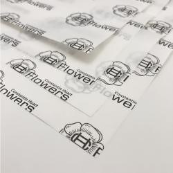 Papier de soie personnalisé 100x75 CM | PAPIER DE SOIE IMPRIMÉ | FLEXO | 1500 feuilles